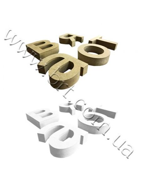 Букви з дерева на стіну
