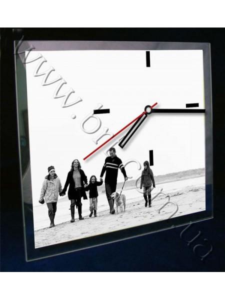 Годинник настільний із фотографією