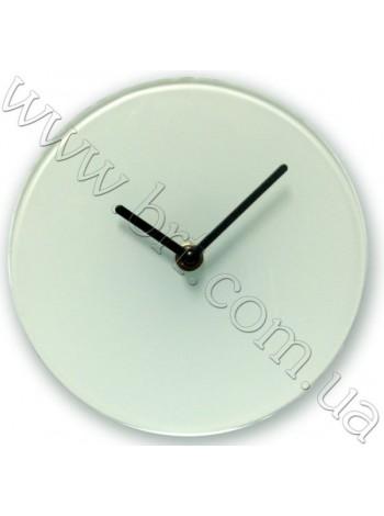 Годинники зі скла для сублімації, діаметр - 18 см