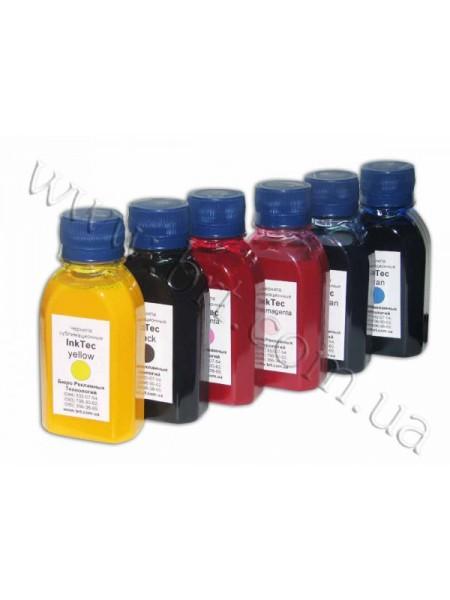 Чорнило InkTec сублімаційні, 100 мл, 6 кольорів