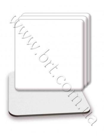 Костер на пивному картоні квадратний 90*90*2 мм, 95*95*2 мм
