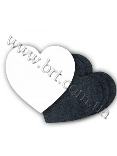 Килимок для миші серце, 196х196х3 мм
