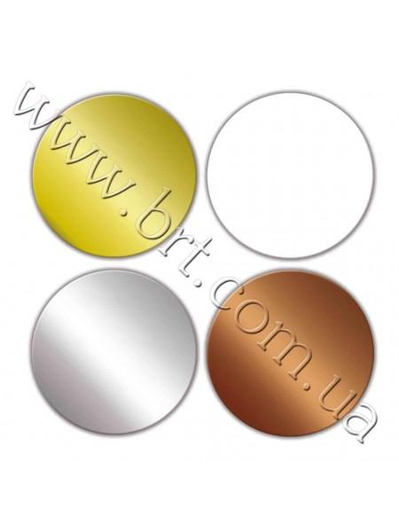 Кружочки металлические, диаметр - 25 мм