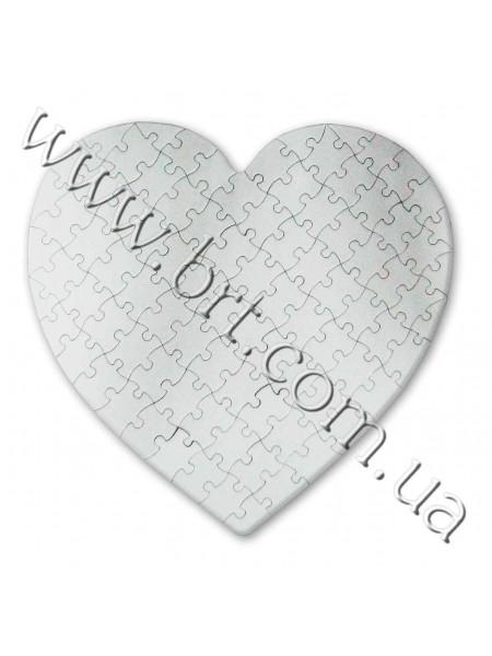 Пазли Серце 30*30 см, 88 елементів
