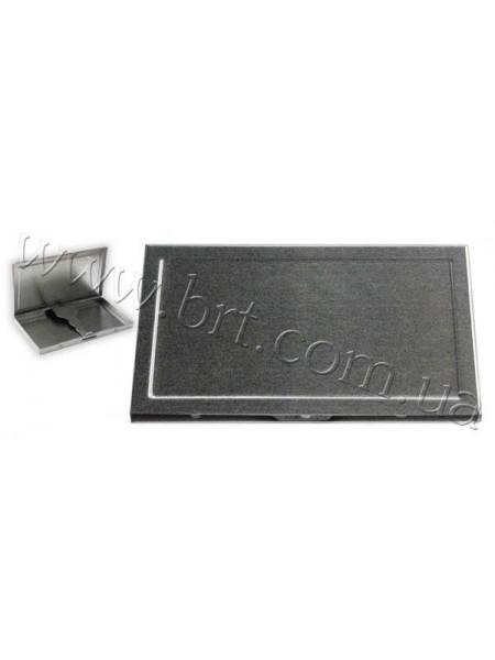 Портсигар металевий тонкий - слім, 100*55*10 мм