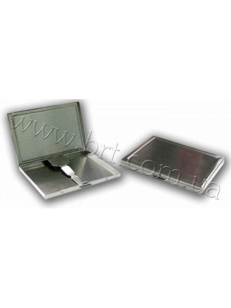 Портсигар металевий стандарт, 100*75*10 мм