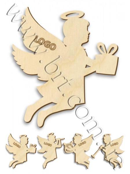 Іграшка дерев'яна Ангел