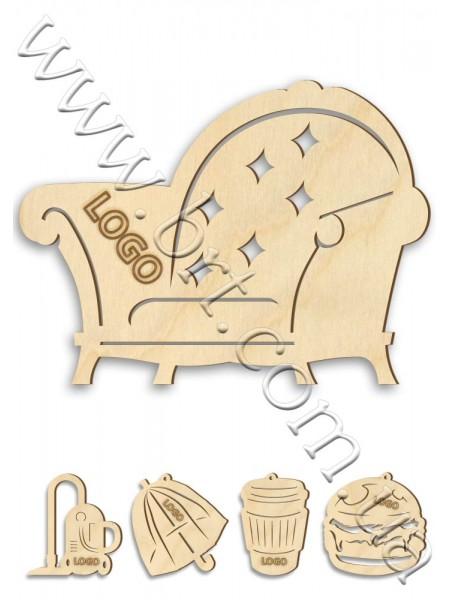 Іграшка дерев'яна будь-якої форми