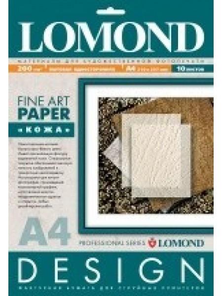 Lomond Leather глянсовий А4, 10 аркушів, 200г