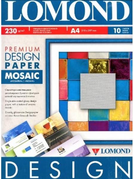 Lomond Design Mosaic глянсовий А4, 10 аркушів, 230г