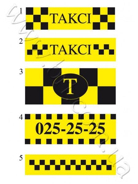 Магниты для такси на заказ
