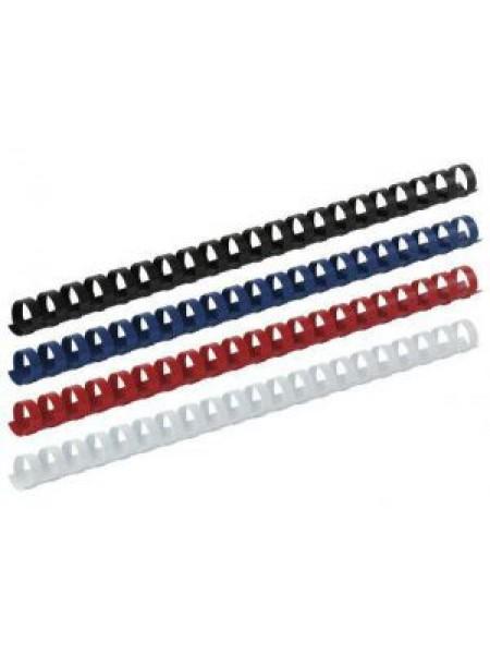 Пружини пластикові для брошурування 19 мм