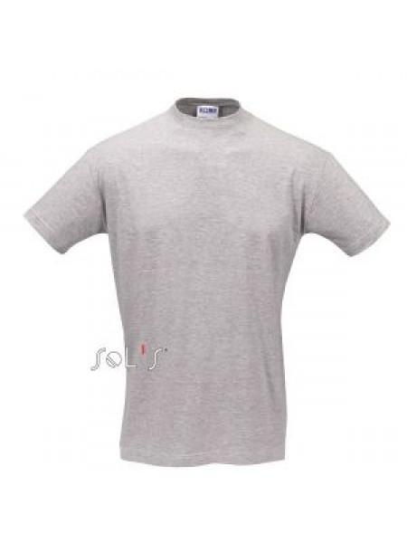 Футболка Солс Регент 150г чоловіча, сірий меланж