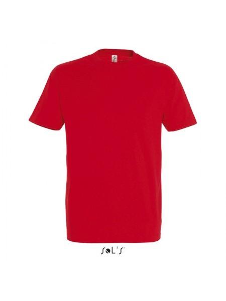 Футболка Солс Регент 150г чоловіча, червона