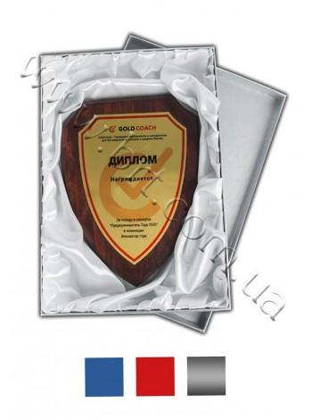 Коробка картонна для нагороди щит і герб