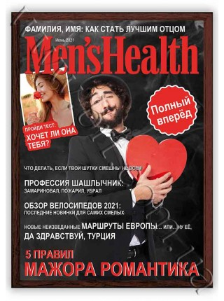Обкладинка журналу Men's Health з моїм фото