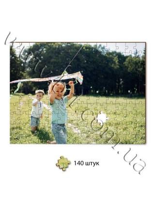 Пазл з дерева зі своєю фотографією, прямокутний