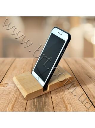 Підставка для телефону з дерева