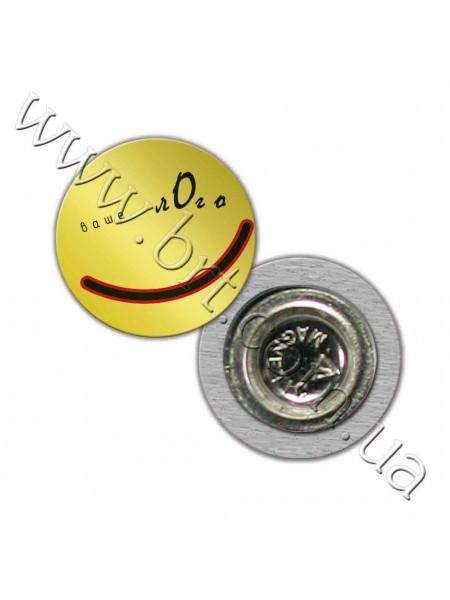 Значки металеві круглі 38, 50 мм