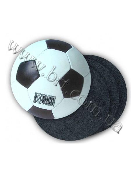 Килимок круглий на гумовій основі, діаметр 200 мм