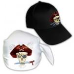 Кепки з принтом, бандани, бейсболки з логотипом на замовлення