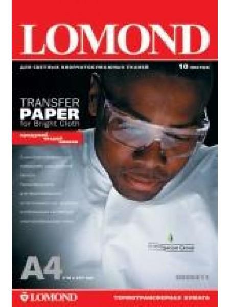 LOMOND Transfer Paper - термотрансфер A4 10 аркушів світлі тканини